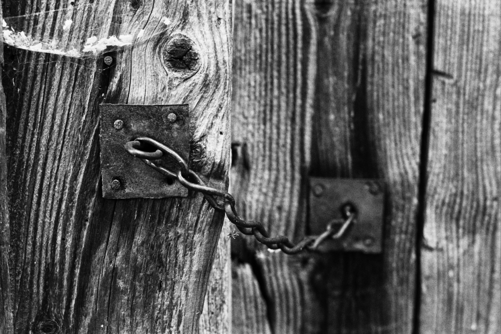 An Old Barn Lock